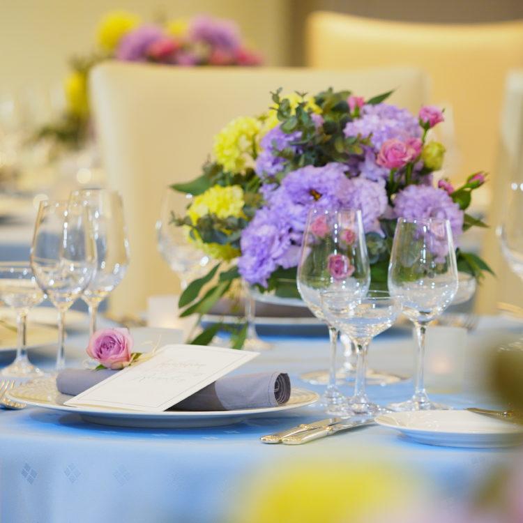 ご家族との結婚式・食事会プラン