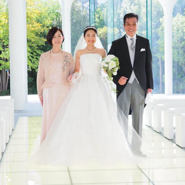 【5月限定】家族との心あたたまる結婚式 相談会