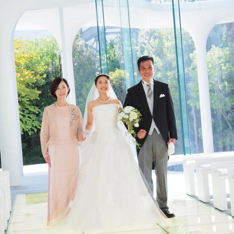家族との心あたたまる結婚式 相談会
